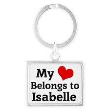 Isabelle Landscape Keychain