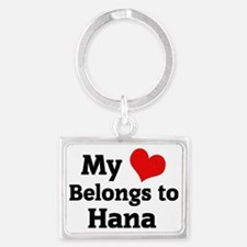 Hana Landscape Keychain