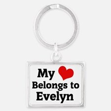 Evelyn Landscape Keychain