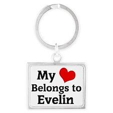 Evelin Landscape Keychain