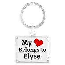 Elyse Landscape Keychain