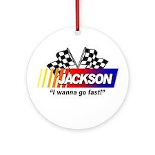 Racing - Jackson Ornament (Round)