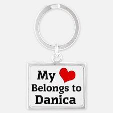 Danica Landscape Keychain