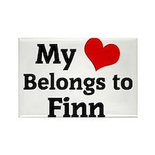 Finn Rectangle Magnet