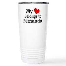 Fernando Travel Coffee Mug