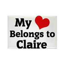 Claire Rectangle Magnet