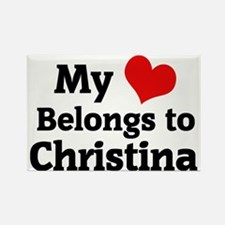 Christina Rectangle Magnet