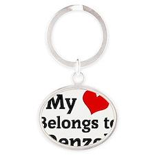 Denzel Oval Keychain
