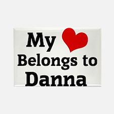 Danna123 Rectangle Magnet