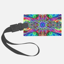 Fractals Particals Luggage Tag