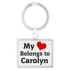 Carolyn Landscape Keychain