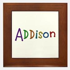 Addison Play Clay Framed Tile
