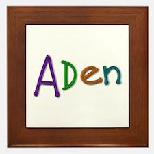 Aden Play Clay Framed Tile