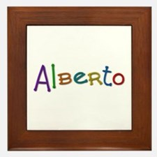 Alberto Play Clay Framed Tile