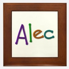 Alec Play Clay Framed Tile