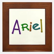 Ariel Play Clay Framed Tile