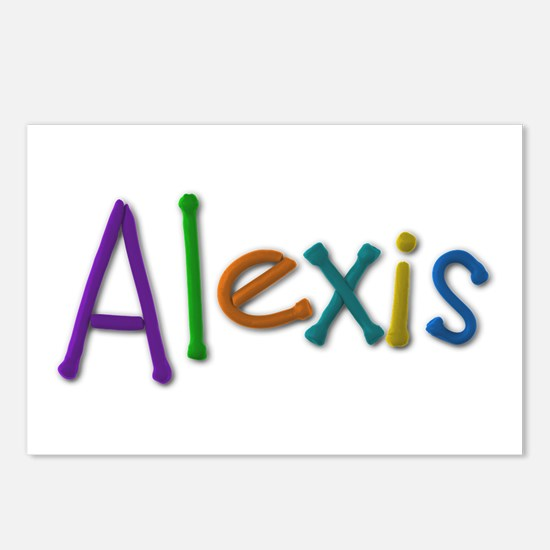 Alexis Play Clay Postcards 8 Pack