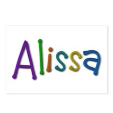 Alissa Play Clay Postcards 8 Pack