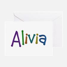 Alivia Play Clay Greeting Card