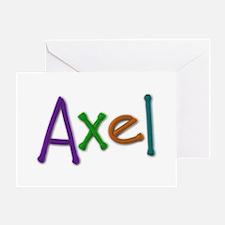 Axel Play Clay Greeting Card