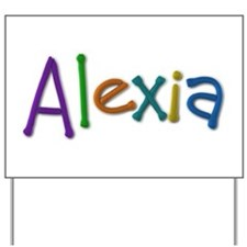 Alexia Play Clay Yard Sign