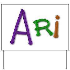 Ari Play Clay Yard Sign