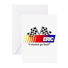 Racing - Eric Greeting Cards (Pk of 10)