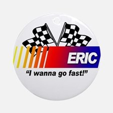 Racing - Eric Ornament (Round)