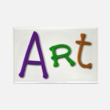 Art Play Clay Rectangle Magnet 10 Pack