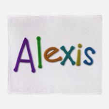 Alexis Play Clay Throw Blanket