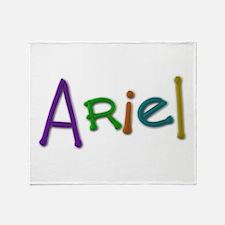 Ariel Play Clay Throw Blanket