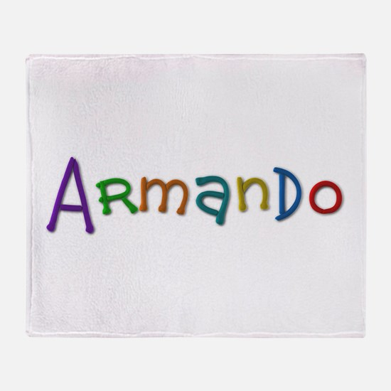 Armando Play Clay Throw Blanket