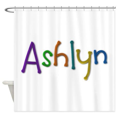 Ashlyn Play Clay Shower Curtain