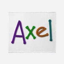 Axel Play Clay Throw Blanket