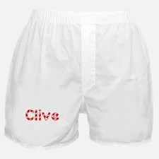 Clive - Candy Cane Boxer Shorts