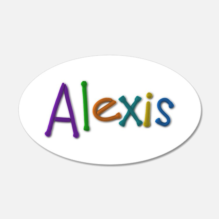 Girl Name Alexis Wall Art | Girl Name Alexis Wall Decor