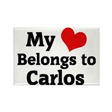 Carlos Rectangle Magnet