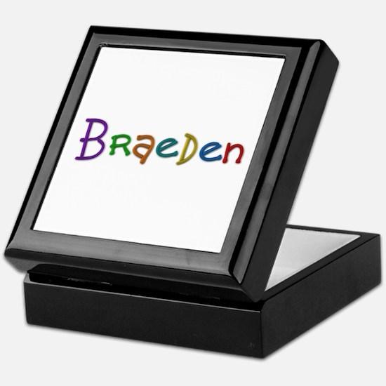 Braeden Play Clay Keepsake Box