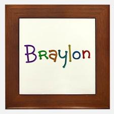 Braylon Play Clay Framed Tile