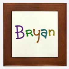 Bryan Play Clay Framed Tile