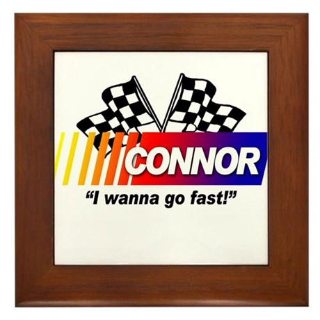 Racing - Connor Framed Tile
