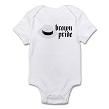 Brown Pride Infant Bodysuit