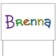 Brenna Play Clay Yard Sign
