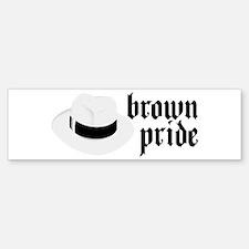 Brown Pride Bumper Bumper Bumper Sticker
