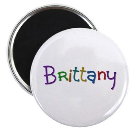 Brittany Play Clay Round Magnet 100 Pack