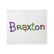 Braxton Play Clay Throw Blanket