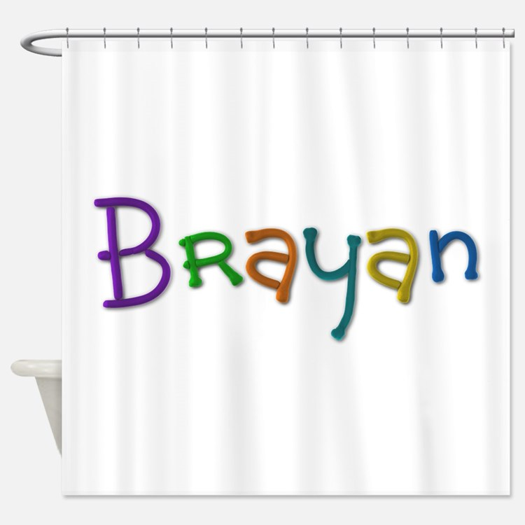 Brayan Play Clay Shower Curtain