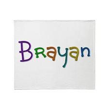 Brayan Play Clay Throw Blanket