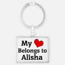 Alisha Landscape Keychain