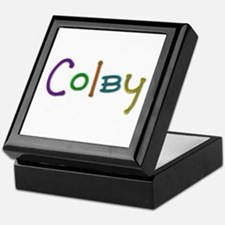 Colby Play Clay Keepsake Box